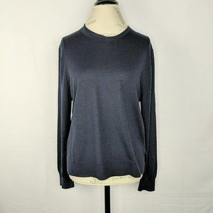 Celine Navy Blue Modele Depose Knit Sweater